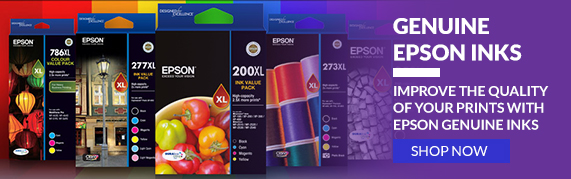 Improve the quality of your prints with Epson Genuine Inks