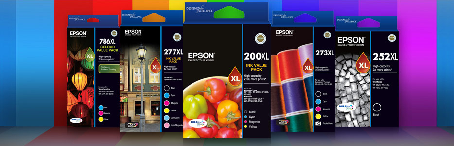 Epson Genuine Inks offers a range of inks to suit a variety of printing applications, whether you're a home, business or professional user.